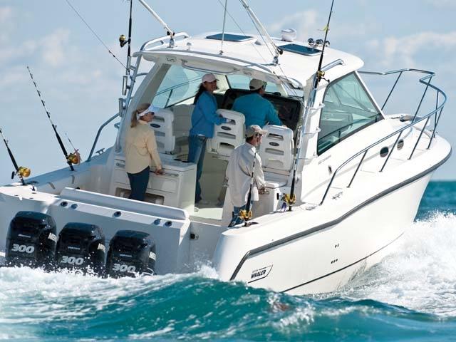 Fisherman e barche da pesca