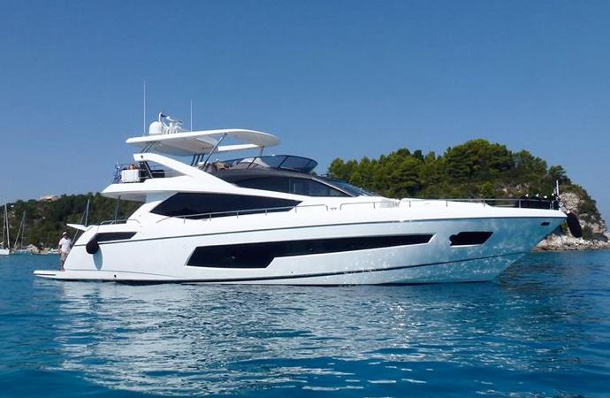 quanto costa uno yacht Sunseeker 75
